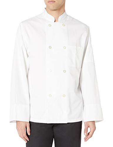 Dickies Chef Classic 8 Button Coat, White, Medium