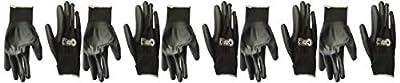 Gorilla Grip Slip Resistant All Purpose Work Gloves 5 Pack (X-Large) (25058-25)