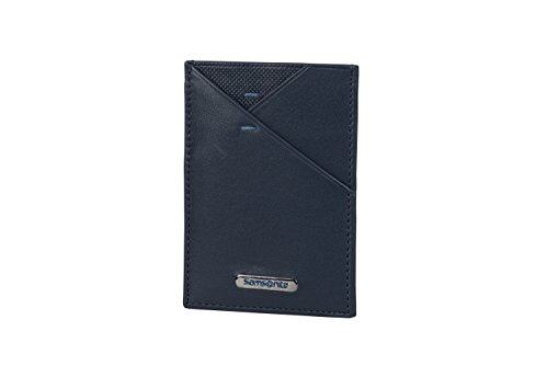 Spectrolite SLG - Multi Creditcard Holder Tarjetero, 10 cm, 0 Liters, Azul (Night Blue/Black)