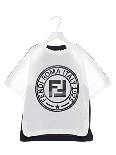 Fendi Luxury Fashion Jungen JMI3127AJF0TW8 Weiss T-Shirt |