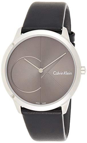 Calvin Klein Reloj Analogico para Hombre de Cuarzo con Correa en Cuero K3M211C3