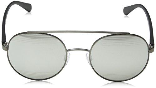 Armani sunglasses for men and women Emporio Armani EA2051 30106G Matte Gunmetal EA2051 Round Sunglasses Lens Catego