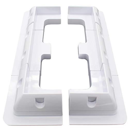 TOOGOO 6 Panneaux Solaires Eco Kit de Support de Montage Latéral d'angle pour Caravan Yacht Boat RV