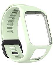 RUSTOO Sporthorloge reserveband, siliconen bandjes, compatibel met Tomtom Smart Armband, compatibel voor Tom Runner23/spark
