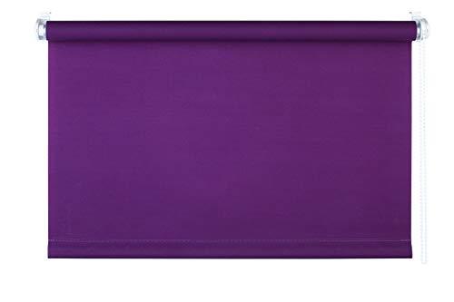 mydeco® 100x160 cm [b x h] in paars - rolgordijn zonder boren - klemrolgordijn - rolgordijnen incl. klemdragers - zonnescherm, inkijkbescherming voor ramen