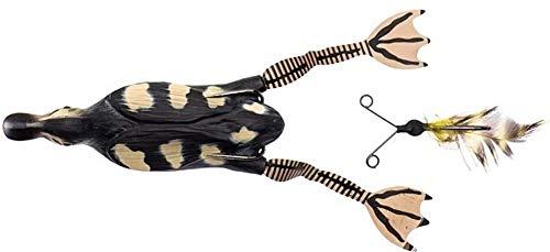 Savage Gear The Fruck 3D Hollow Duckling - Enten Gummiköder zum Spinnfischen auf Hecht, Oberflächenköder zum Hechtangeln, Wobbler, Farbe:Natural;Länge/Gewicht:7.5cm - 15g