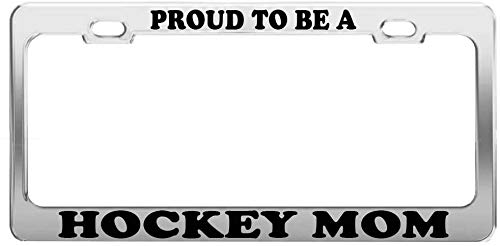 hockey mom license plate frame - 4