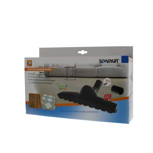 Miele SBB 300 Twister - Ugello compatibile per pavimenti duri e parquet, Scanpart, con adattatore quindi adatto per tutti gli aspirapolvere in commercio