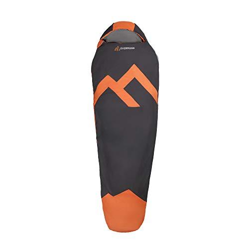 Evermann Sleeping Bag Ultraligero Makalu I Bolsa de Dormir I Saco para Dormir I Ligero y Compacto I para Temperaturas hasta 5°
