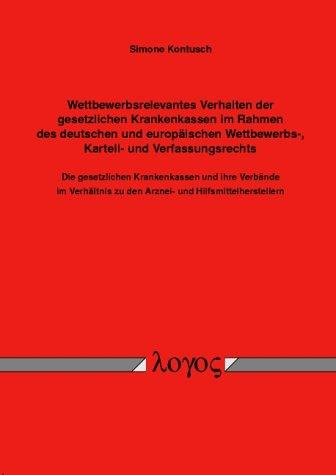 test Mit dem Wettbewerbsverhalten deutscher Krankenkassen… Deutschland