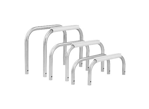 S.R. Smith 68-209-1582 Frontier IV U-Frame Stainless Steel Stand with 8-Foot Diving Board, White