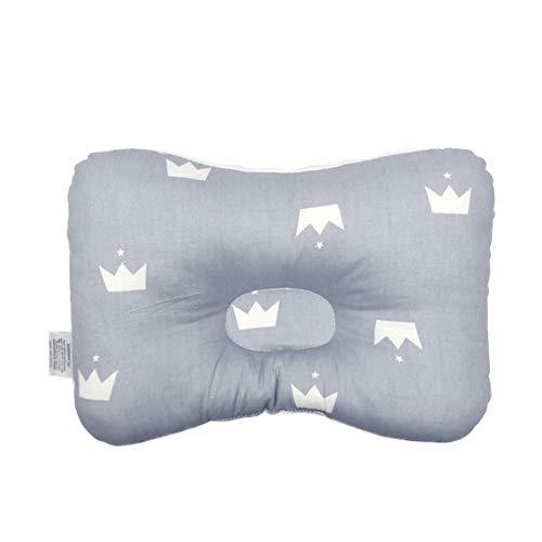 PB-SOAR 100% Baumwolle Baby Kissen gegen Plattkopf Babykopfkissen Säugling Lagerungskissen (Muster 9)