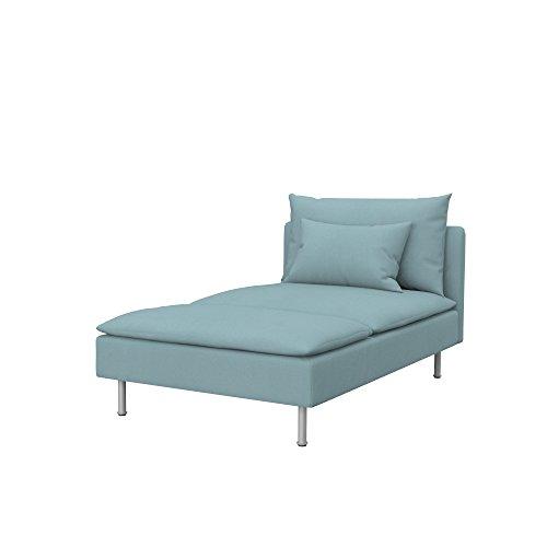 Soferia - IKEA SÖDERHAMN Funda para chaiselongue, Eco Leath