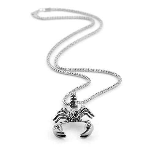 NA Halskette Skorpion Anhänger Halsketten Legierung Halsbänder Tier Skorpione Mode Männer Und Frauen Schmuck Xl0819