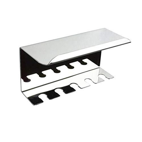 unknow Liangwan Multifunktions-Zahnstangenhalter aus Edelstahl zur Wandmontage Badezimmer-Küchenorganisator