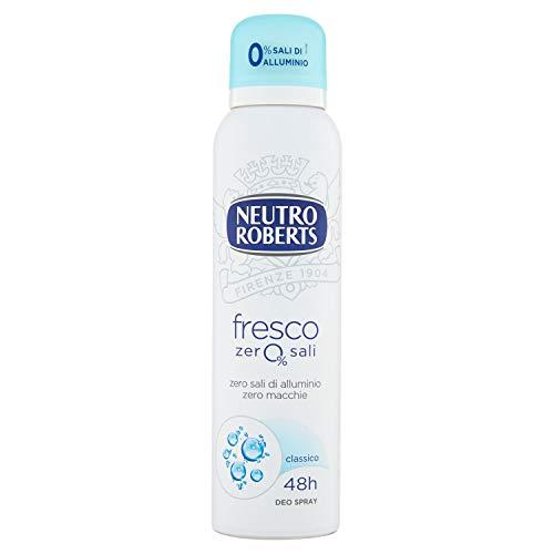 Neutro Roberts Deodorante Fresco Spray, 150ml