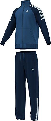 adidas Tuta da Uomo Riberio Blu Vista Blue F14/Collegiate Navy 4