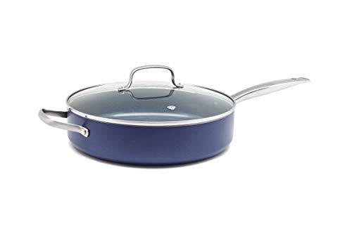 Blue Diamond Ceramic 5 Quart Saute Pan