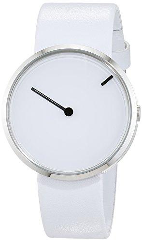 Jacob Jensen Unisex Analog Quarz Uhr mit Leder Armband 32253