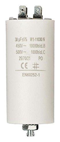 Fixpart Condensador 30.0uf / 450v + arde, información técnica tolerancia Capacidad: (973977007426)
