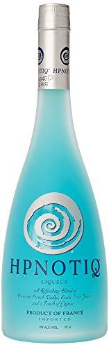 Hpnotiq – Licor de vodka con zumo de fruta y cognac Blue champagne, 700 ml