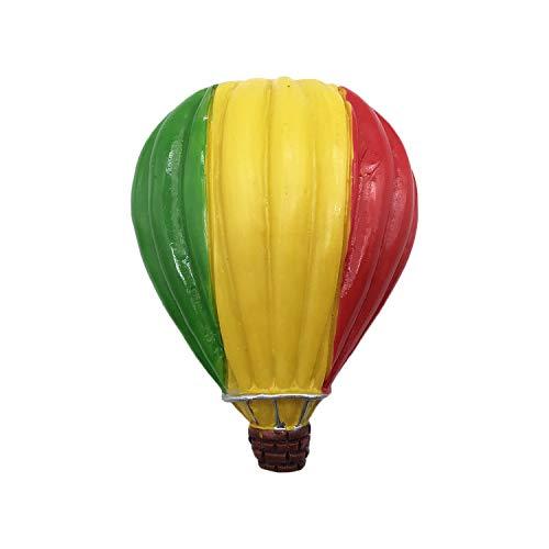 3D Feuer Ballon Mali Flagge Kühlschrank Kühlschrankmagnet Tourist Souvenirs Handmade Harz Handwerk Magnetischen Aufkleber Home Küche Dekoration Reise Geschenk