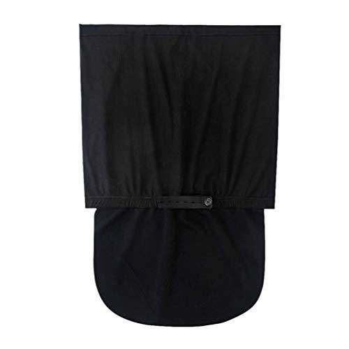 HEALLILY Cinturón de Maternidad Soporte de Embarazo Cinturón de Banda de Soporte Abdominal Ajustable Y Transpirable para Embarazadas Prenatal Negro