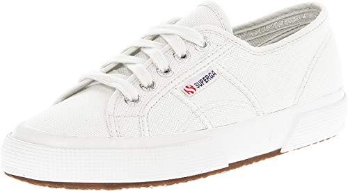 Superga Unisex 2750 Cotu White Classic Sneaker - 38 M EU / 7.5 B(M) US Women / 6 D(M) US Men