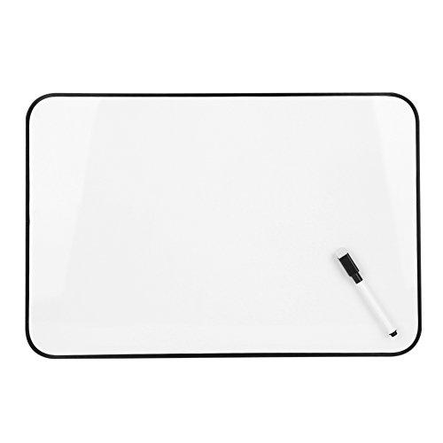 Tafel Whiteboard Schreibtafel Set mit Tafellöscher Magnettafel für Büro Arbeitszimmer Aufhängende Kreidetafel Memeoboard Magnetische Wandtafel Nachrichtenbrett in verschiedenen Größe 30x45cm