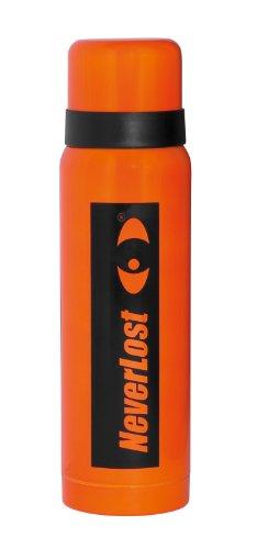 NeverLost 6129 Bouteille isotherme Orange/noir 0,5 l
