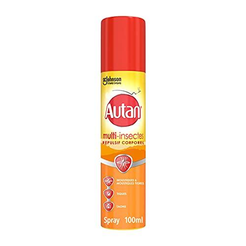 Autan multi-Insectes - Répulsif Anti-Moustiques - Spray Aérosol 100 ml 318739