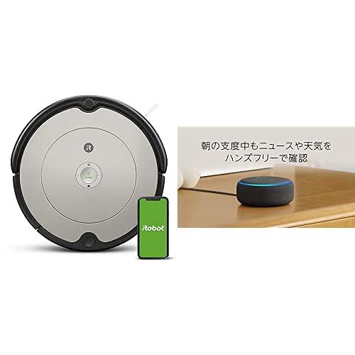 【セット買い】Echo Dot 第3世代 チャコール + ルンバ 692 アイロボット ロボット掃除機 Alexa対応モデル