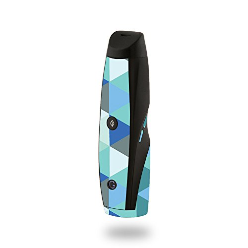 MightySkins Skin Compatible with G Pen Elite Vaporizer - Blue Kaleidoscope | Protective, Durable, and Unique Vinyl Decal wrap Cover | Easy to Apply, Remove, and Change Styles | Made in The USA
