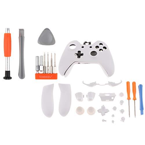 Homyl Kit Completo de Capa para Xbox One Elite Button Set com All-in-one Tool