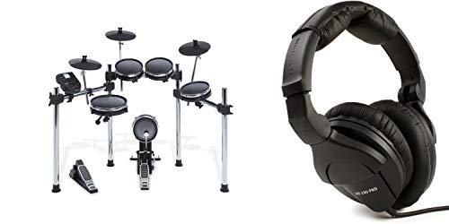 Sennheiser HD 280 Pro Closed-back Studio and Live Monitoring Headphones + Alesis Surge Electronic Drum Set Value Bundle