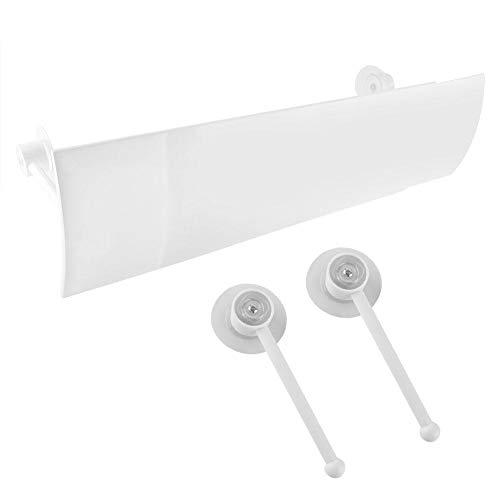 Sutinna Windabweiser der Klimaanlage, einstellbare Windschutzabdeckung der Klimaanlage Anti-Direktblasen Skalierbare Schallwand Klimaanlage Windschutzscheibe für den Wohnraum Einfach zu bedienen