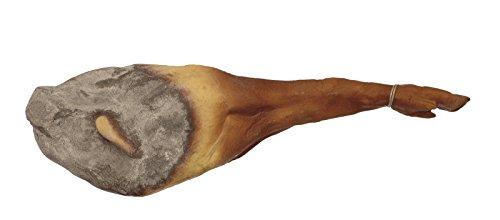 ERRO Prosciutto spagnolo come dalla città di Serano. Finta in plastica – 12346 per alimenti, prosciutto, replica di accessori di scena, decorazione teatrale
