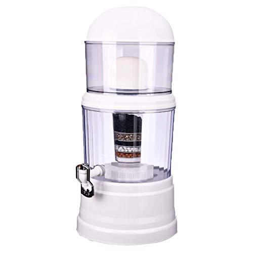 GJJSZ Filtro de Agua 14L Purificador de Agua para el hogar Dispensador de Agua alcalina Tratamiento de Agua Potable Bebida Recta