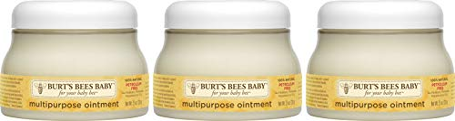 Burt#039s Bees Baby 100% Natural Origin Multipurpose Healing Ointment Face amp Body Baby Ointment 75 Ounce Tub  Pack of 3