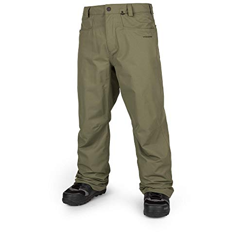 Volcom Herren Snowboardhose Carbon, Military, M, G1351915