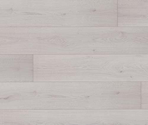 HORI® Laminat Eiche Landhausdiele weiß Ambiente Family 1-Stab I für 9,81 €/m²