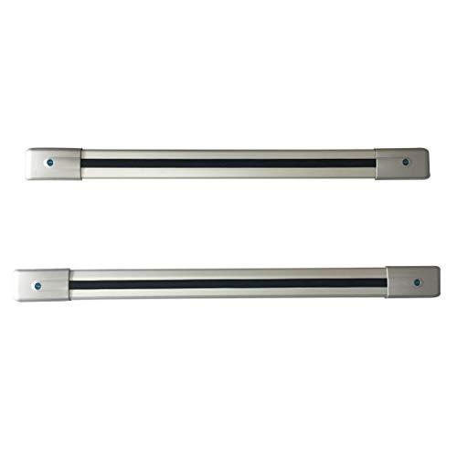 CStern 0.85-0.9m Barras Transversales para Techo de Coche con Cerradura de Aleación de Aluminio Plata para SUV 2010-2015 GLK300 X204(1 Par)