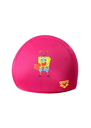 arena spongebob jr polyester cap pink