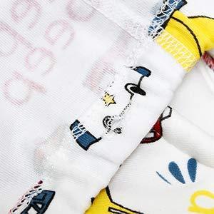 奥拉屋 トレーニング パンツ ベビー 中股6層 3枚組 純綿 トレパン キッズ 男女
