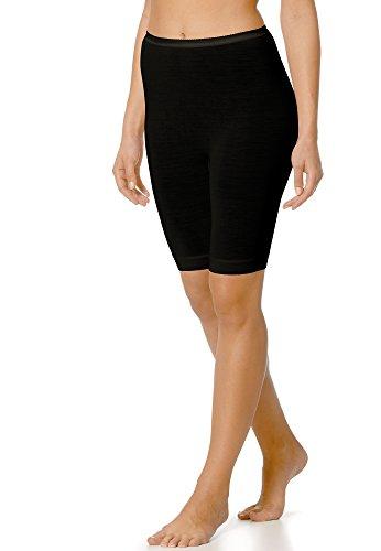 Mey Basics Serie Exquisite Damen Leggings Schwarz 42