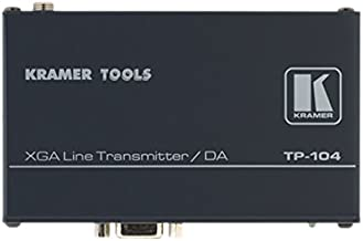 Kramer Electronics TP-104HD 1:4 Computer Graphics Video and HDTV Over Twisted Pair Transmitter, Distribution Amplifier