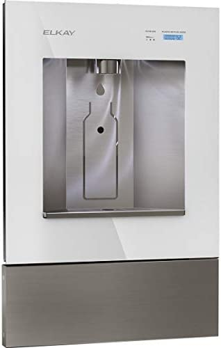 Elkay LBWD00WHC ezH2O Liv Built in Filtered Water Dispenser Non refrigerated Aspen White product image