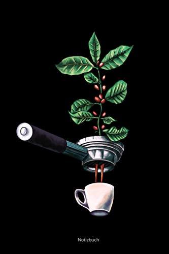 Notizbuch: a5 kariert - Kaffeeliebhaber Geschenk Barista Espresso Motiv Schreibheft Journal