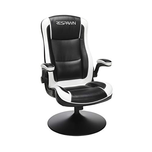 RESPAWN RSP-800 OFM Rocking Gaming Chair, 29.13' D x 25.98' W x 41.73' H, White