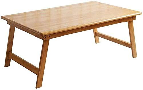 Escritorio para ordenador portátil con mesa pequeña plegable simple y perezoso escritorio de estudio en T (tamaño: 60 a 70 cm)